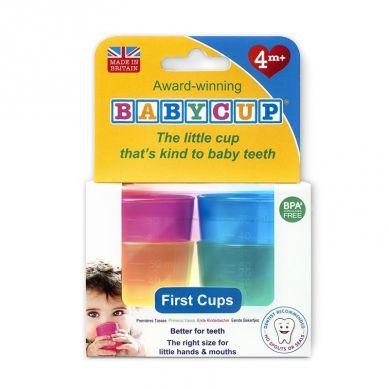 Babycup - Pierwszy Kubeczek dla Niemowląt od 4 m-ca 4 Pack Multi