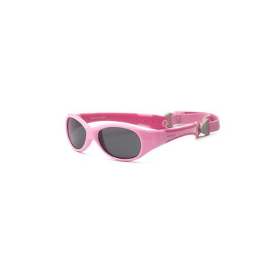 Real Kids - Okularki dla Dzieci Explorer Pink and Hot Pink 0+