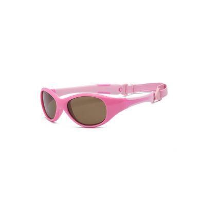 Real Kids - Okularki dla Dzieci Explorer Polarized Pink and Pink 2+