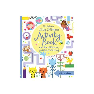 Wydawnictwo Usborne Publishing - Little Children's Activity Book Spot the Difference, Puzzles and Drawing