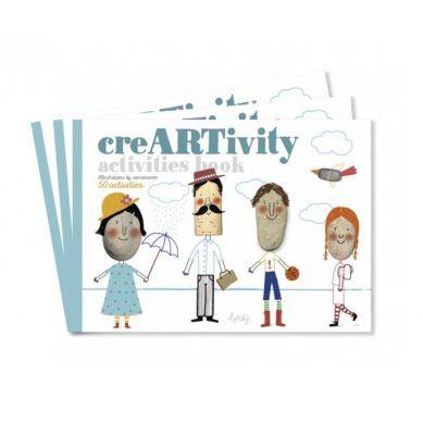 Londji - Zeszyt do Kreatywnej Zabawy CreARTivity 3+