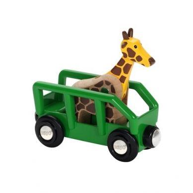 BRIO - World Wagon z Żyrafą Safari