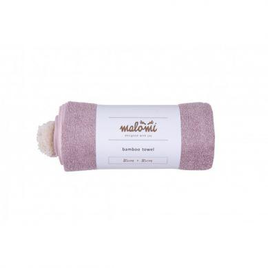 Malomi Kids - Ręcznik Bamboo Dusty Pink S