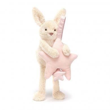 Jellycat - Przytulanka z Pozytwyką Króiliczek Star Pink