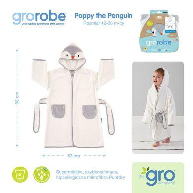 Gro Company - Szlafrok Grorobe Poppy the Penguin 12-36 miesięcy
