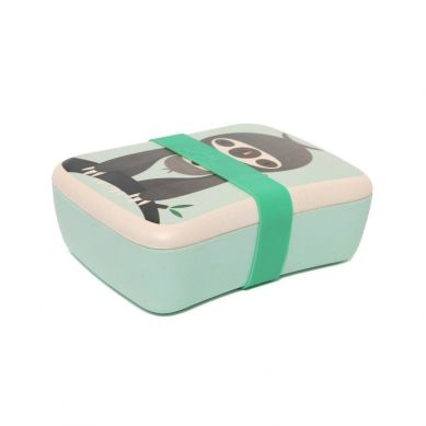 Petit Monkey - Bambusowy Lunchbox Sloth Green