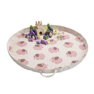 3 Sprouts - Mata na Zabawki Słoń Różowy