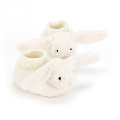 Jellycat - Buciki Bashful Cream Bunny 10cm