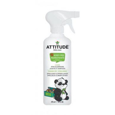 Attitude - Płyn do Czyszczenia Zabawek i Powierzchni w Pokoju Dziecka Bezzapachowy Fragrance Free 475 ml