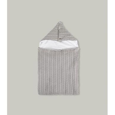 Muzpony -  Śpiworek z Kapturem do łóżeczka/gondoli wózka Malmo 60 cm