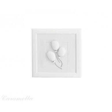 Caramella - Obrazek Shiny z Motywem Baloników z Kokardą Shiny