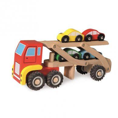 Egmont Toys - Drewniana Ciężarówka Transportowa 18m+