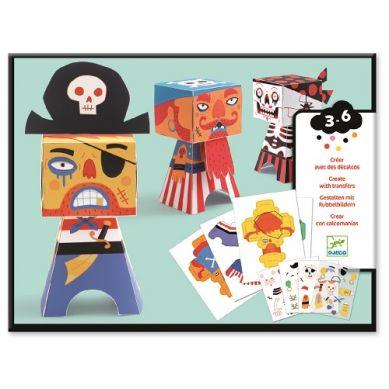 Djeco - Składanki Papierowe Piraci