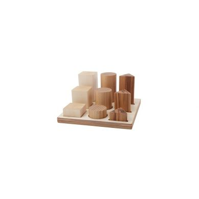 Wooden Story - Sorter Board Naturalny XL