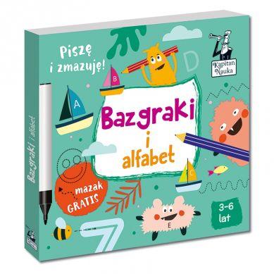 Kapitan Nauka - Bazgraki i Alfabet 3+