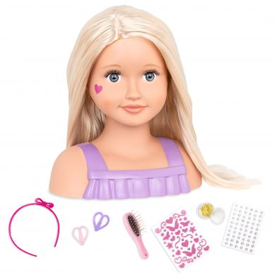 OurGeneration - Głowa Lalki do Czesania Trista Doll Face 3+