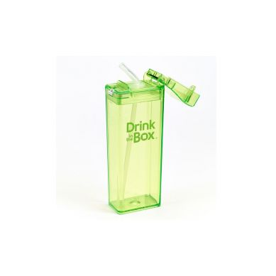 Drink In The Box - Bidon ze Słomką 350ml Green