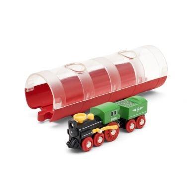 BRIO - World Pociąg Parowy z Tunelem