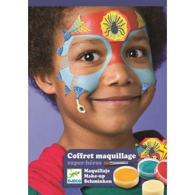Djeco - Farby do Malowania Twarzy Super Heros