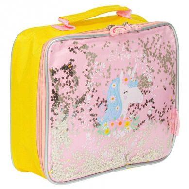 A Little Lovely Company - TERMO Lunchbox GLITTER Jednorożec