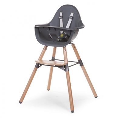 Childhome - Krzesełko Evolu 2 Natural/Anthracite
