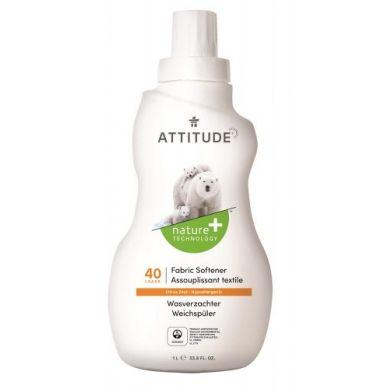 Attitude - Płyn do Płukania Skórka Cytrynowa Citrus Zest 40 płukań 1040 ml