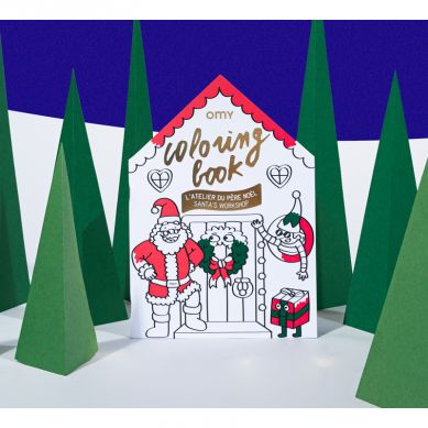 Omy - Kolorowanka Christmas Factory