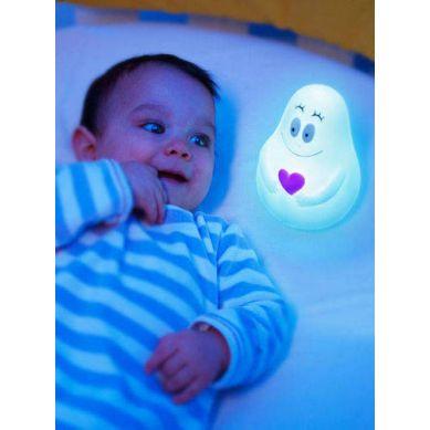 Pabobo - Lampka Przytulanka Barbapapa Niebieski USB
