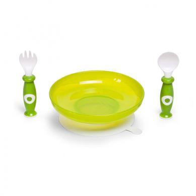 Childhome - Zestaw Obiadowy 3-elementowy Zielony