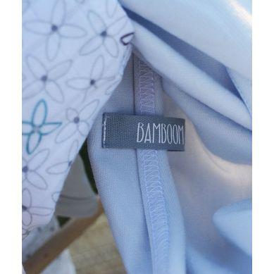 Bamboom - Dwie Pieluszki Bambusowe Logo Bamboom&Popielata 80x80