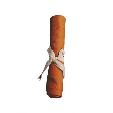Filibabba - Pieluszka Muślinowa 65 x 65 cm Dark Orange