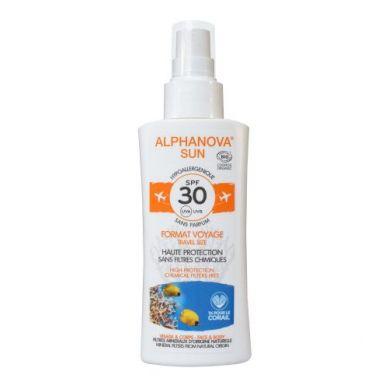 Alphanova Sun- Spray z Filtrem SPF30 Wersja Podróżna 90g