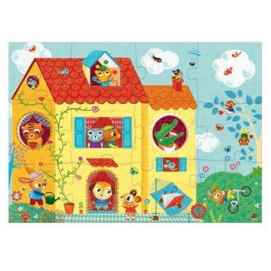 Djeco - Puzzle Optyczne The House