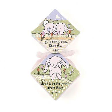 Jellycat - Przytulanka z Książeczką Bunny Pink