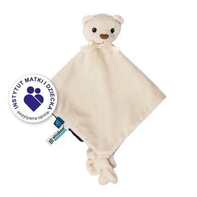 Whisbear - DouDou Kocyk Przytulanka Miś Friends of Whisbear® Biały