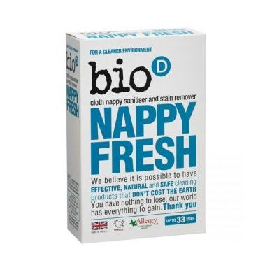 Bio-D - Nappy Fresh Dodatek do Prania Pieluch 500g