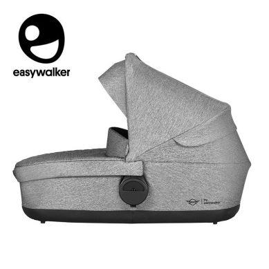 Easywalker - MINI Stroller gondola do wózka Soho Grey (zawiera osłonkę przeciwdeszczową)
