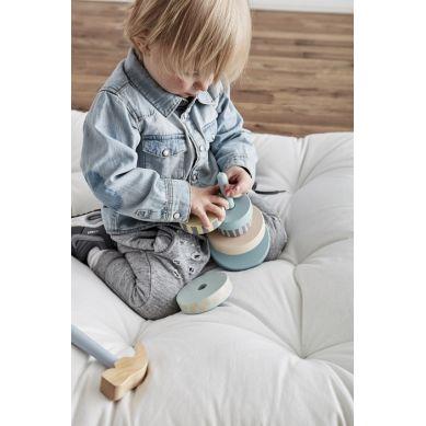 Kids Concept - Edvin Wieża Drewniana Zielona