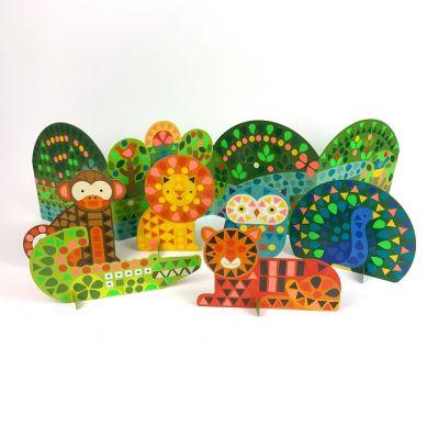 Petit Collage - Mozaika Wyklejanka Zwierzęta