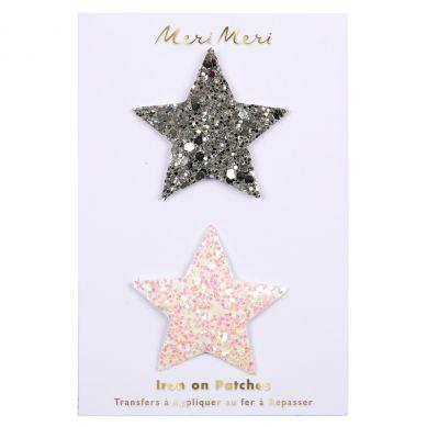 Meri Meri - Zestaw Naprasowanek Glitter Stars