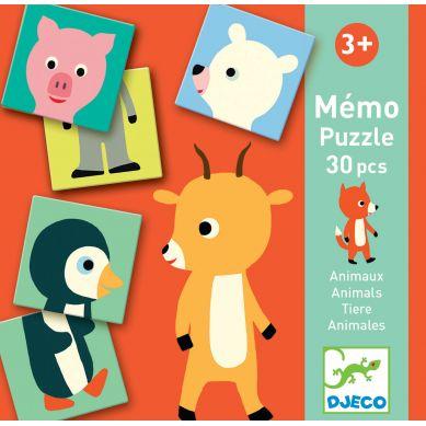 Djeco - Gra Pamięciowa Memo Animo