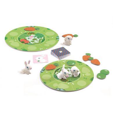 Djeco - Gra dla najmłodszych KRÓLICZKI 2+