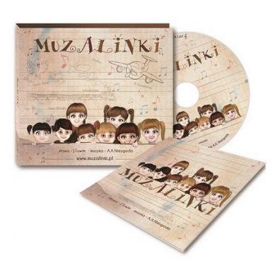 Wydawnictwo Kidimax - Płyta CD z Muzyką dla Dzieci Muzalinki