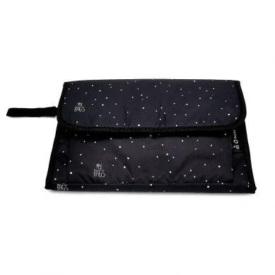 My Bag's - Przewijak Podróżny Confetti Black