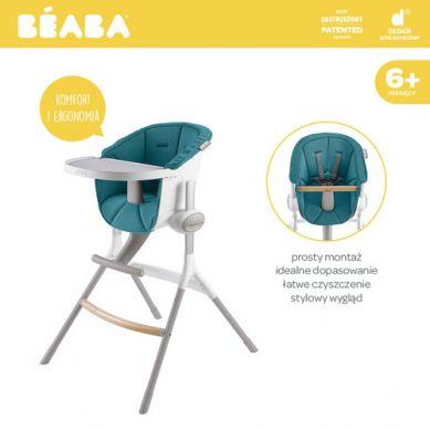 Beaba - Miękki Wkład do Krzesełka do Karmienia Up&Down Blue