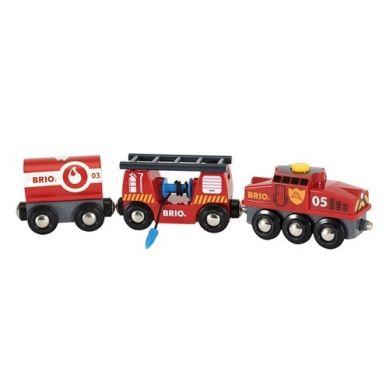 BRIO - World Pociąg Straży Pożarnej
