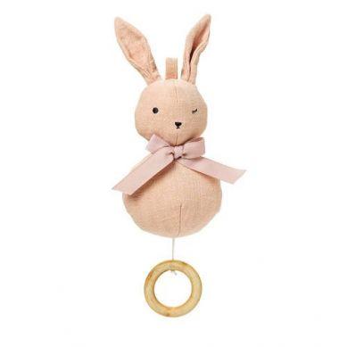 Elodie Details - Pozytywka Powder Pink Bunny