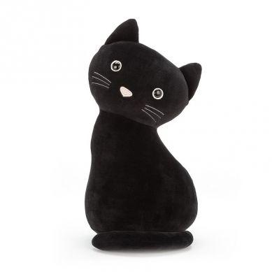 Jellycat - Kot Lucky czarny 34cm