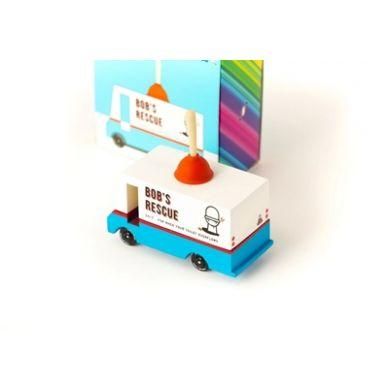 Candylab - Samochód Drewniany Plumbing Van