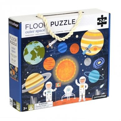 Petit Collage - Puzzle Podłogowe Kosmos